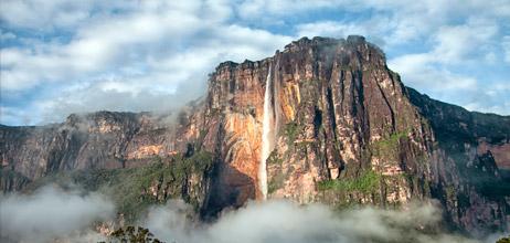 Salto Angel. Viaje Venezuela