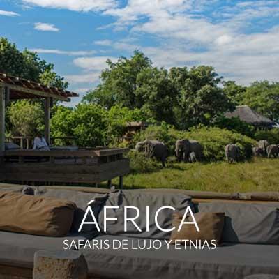 Explora todos los viajes de lujo por África