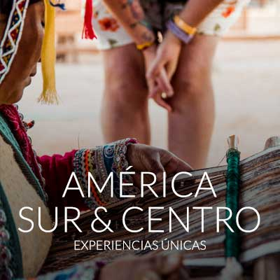 Explora todos los viajes de lujo por Sudamérica y Centroamérica