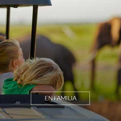 Viajes y Safaris para realizar en familia